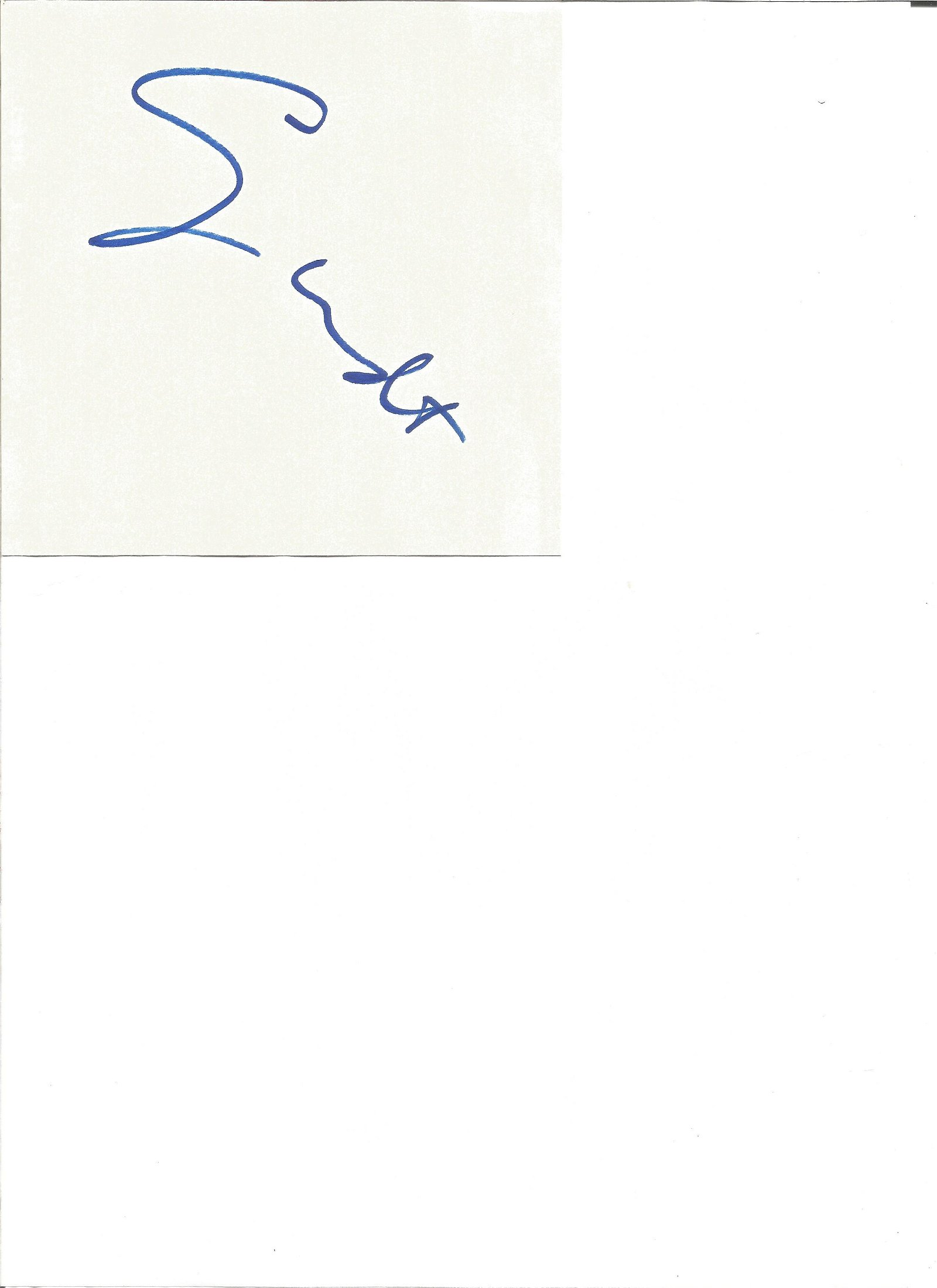 George Wendt signed card with 10x8 colour photo. Good