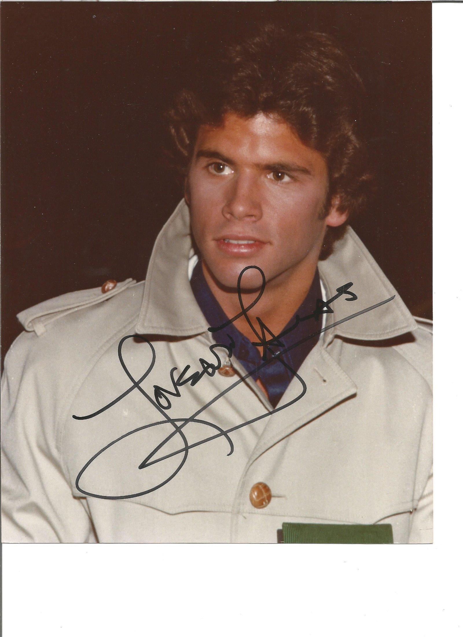 Lorenzo Lamas signed 10x8 colour photo. Good Condition.