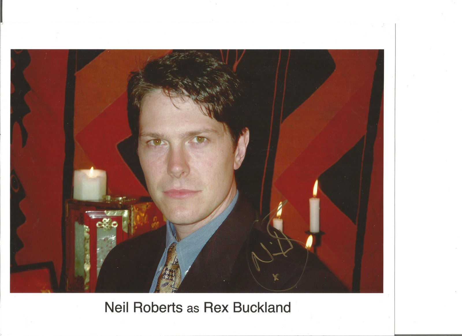 Neil Roberts signed 10x8 colour photo. Good Condition.