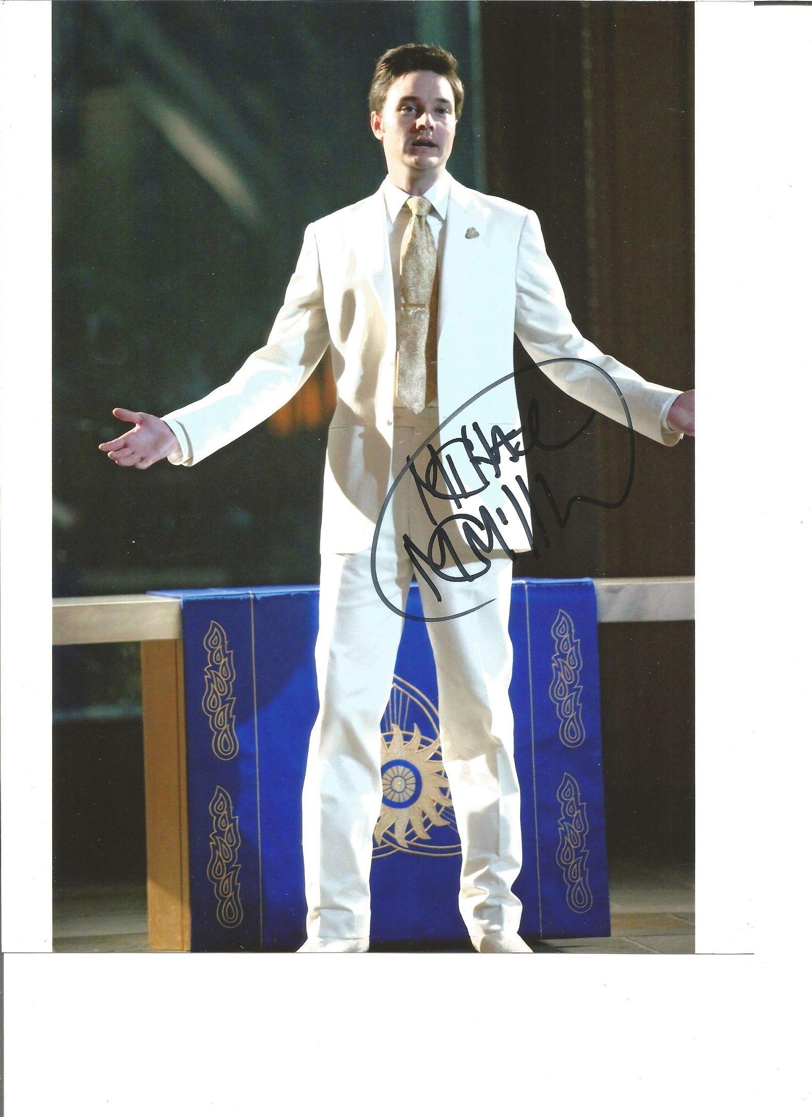 Michael McMillian signed 10x8 colour photo. Good