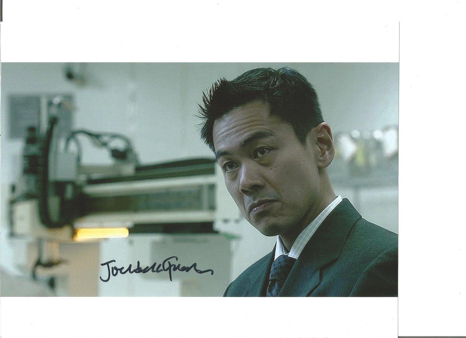 Joel de la Fuente signed 10x8 colour photo. Good