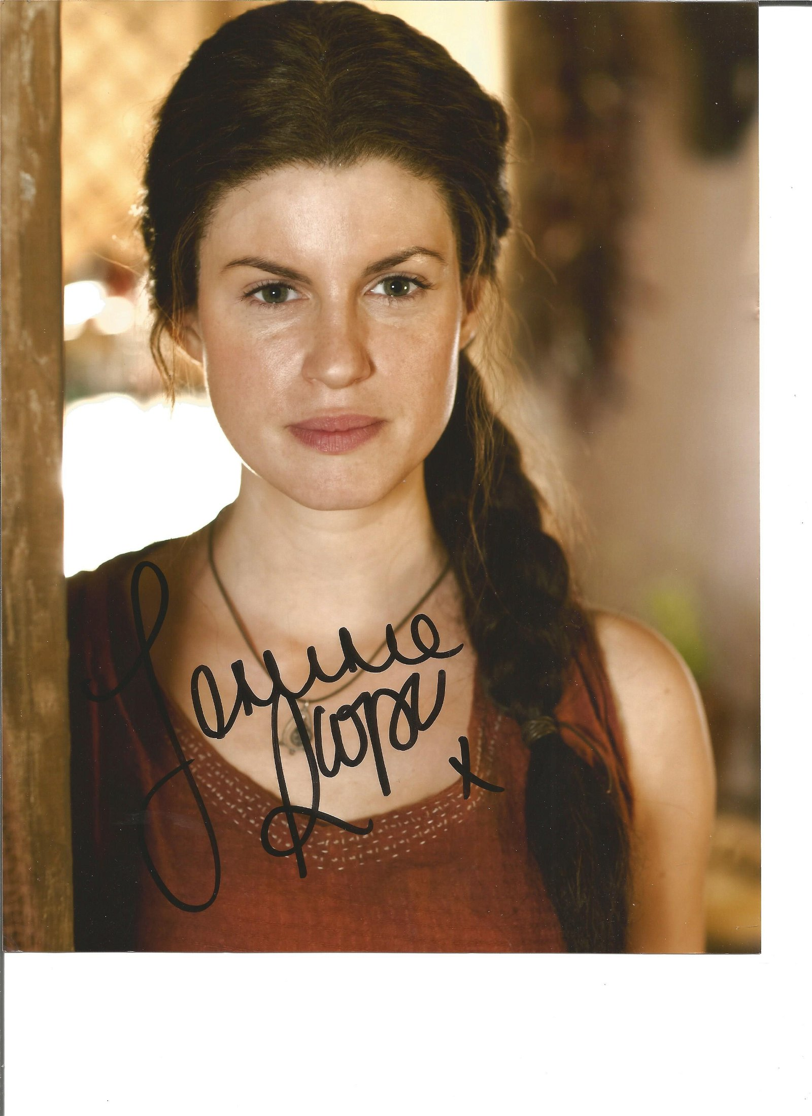 Jemima Rooper signed 10x8 colour photo. Good Condition.