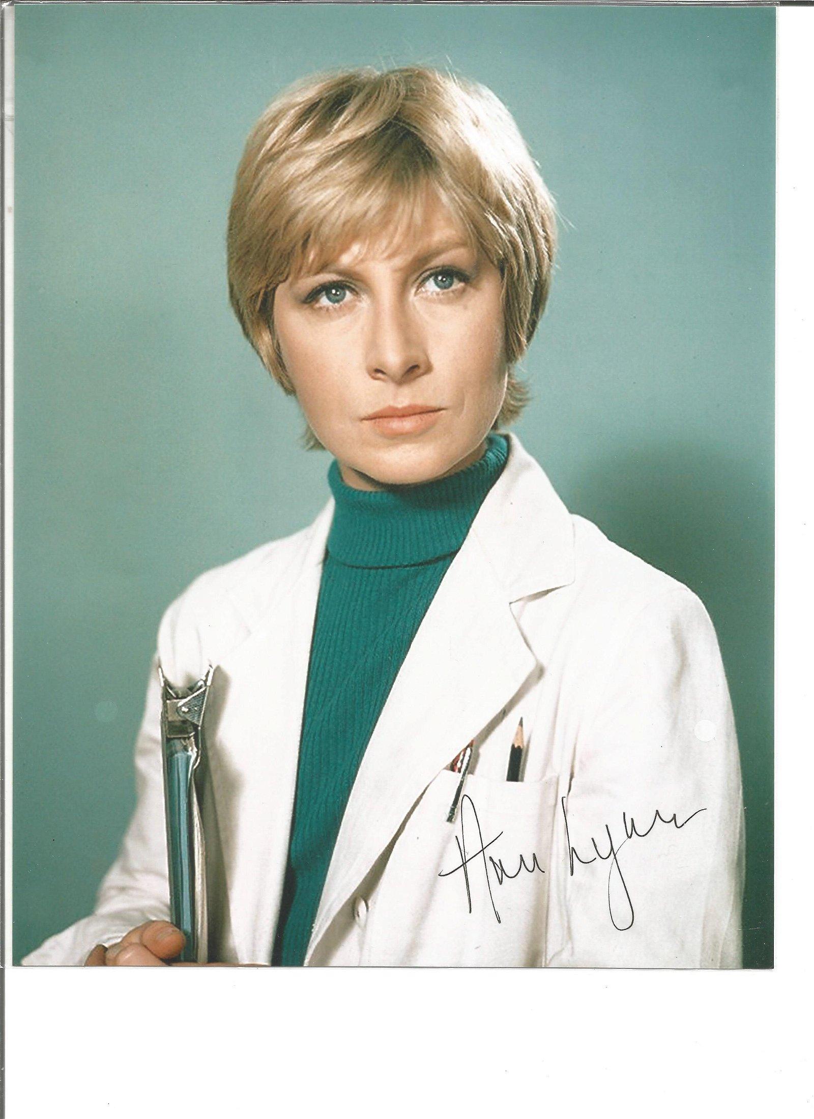 Ann Lynn signed 10x8 colour photo. Good Condition. All