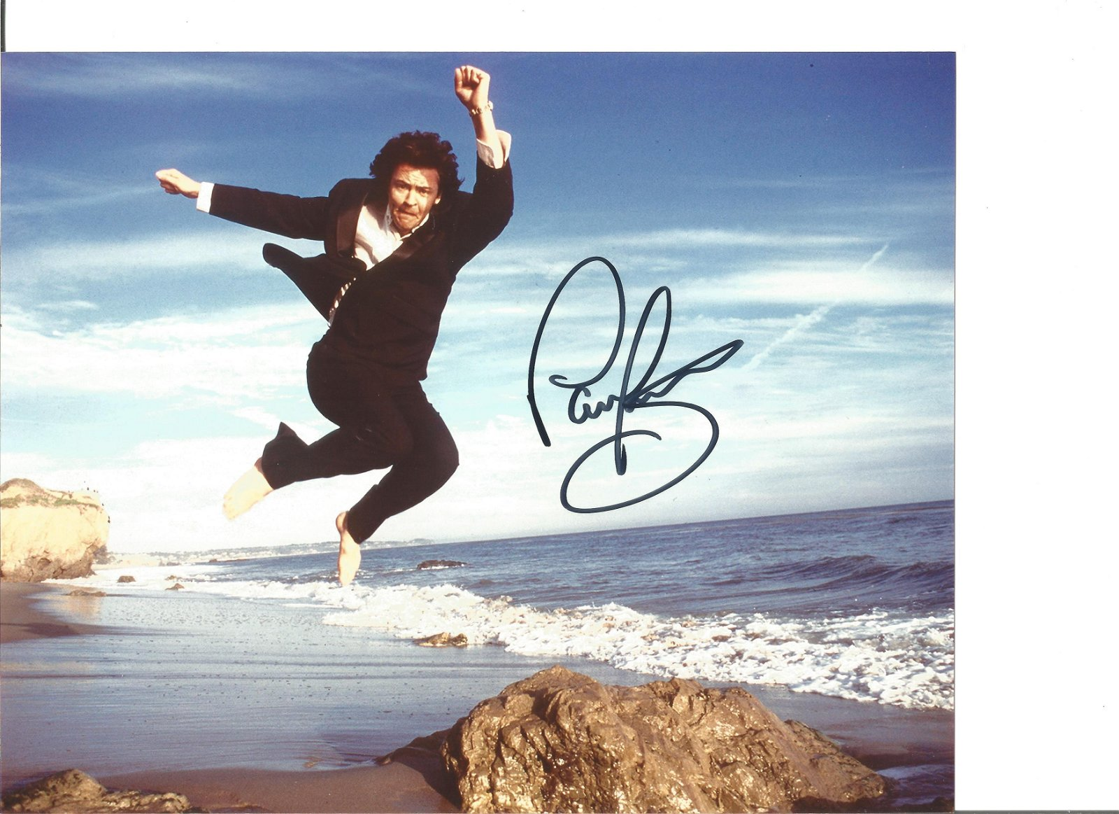 Paul Young signed 10x8 colour photo. Good Condition.