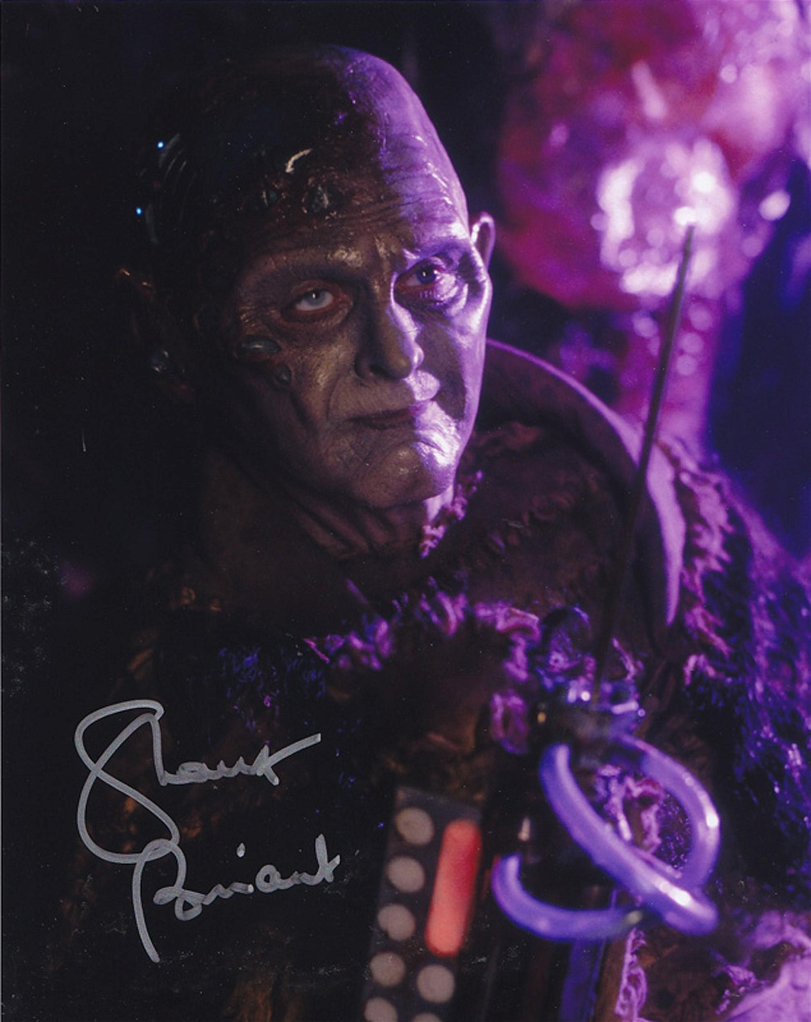 Blowout Sale! Farscape Shane Briant hand signed 10x8