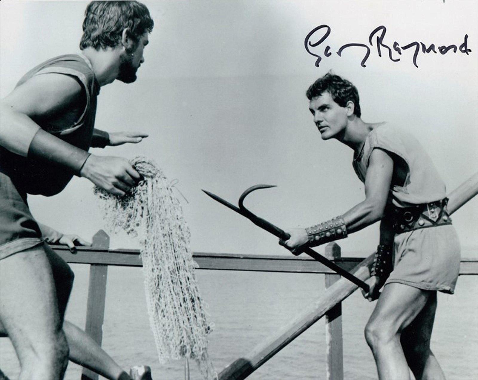 Blowout Sale! Jason and the Argonauts hand signed 10x8
