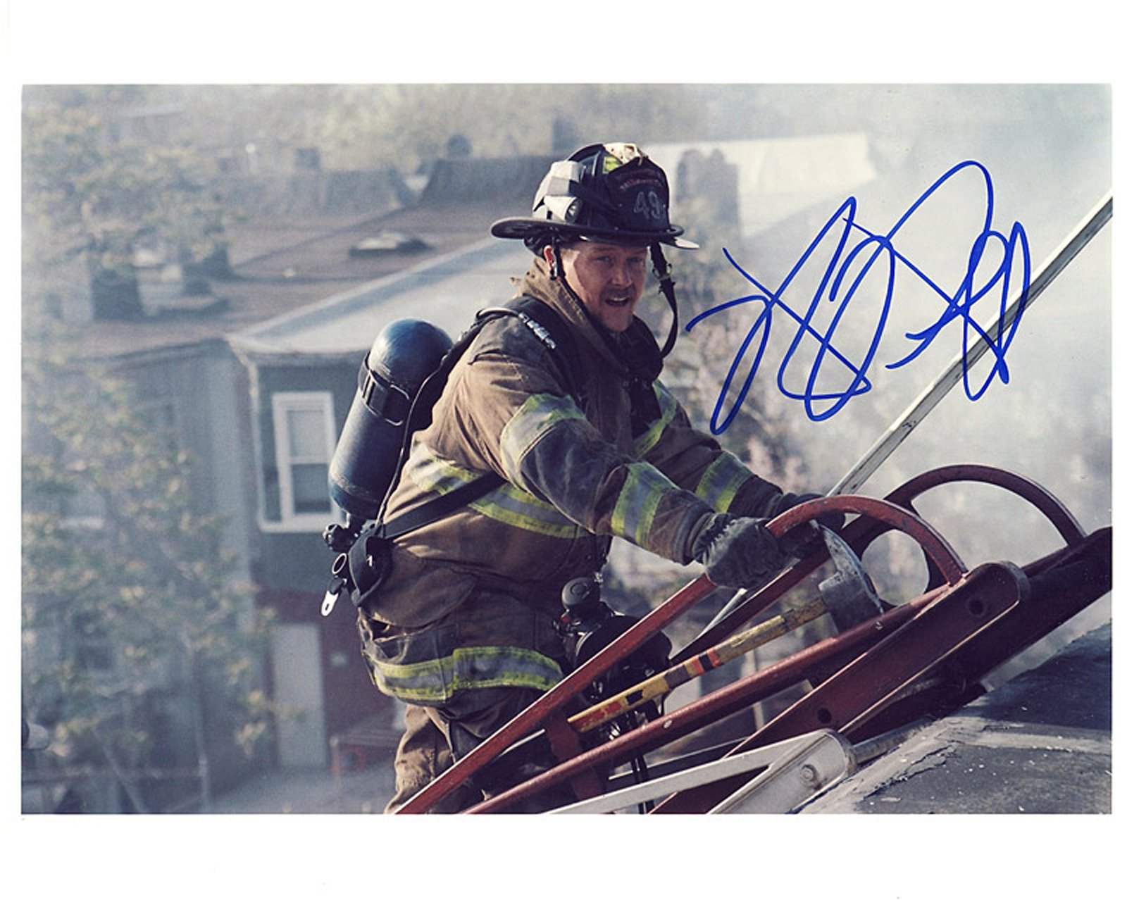 Blowout Sale! Ladder 49 Robert Patrick hand signed 10x8