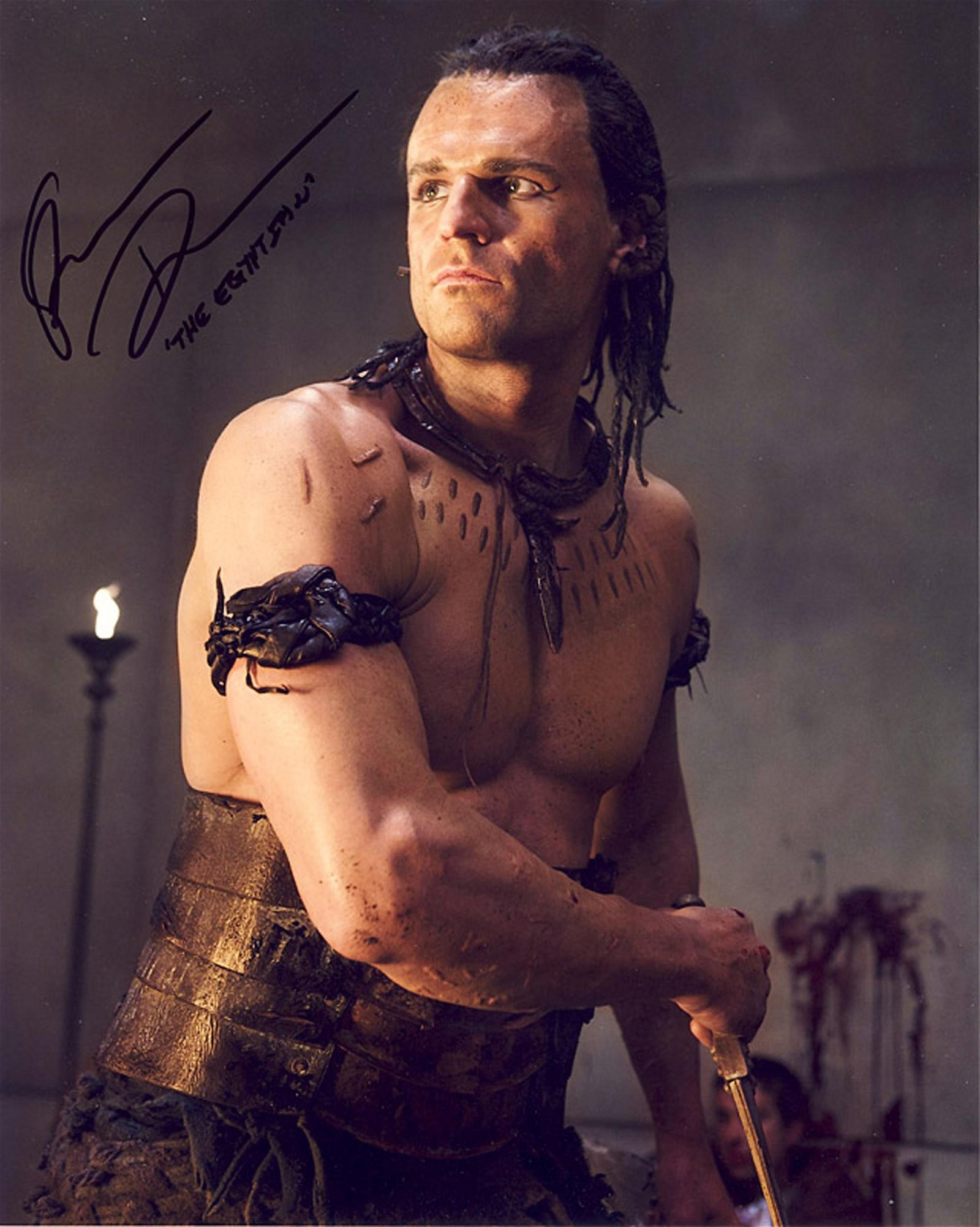 Blowout Sale! Spartacus Stephen Dunlevy hand signed