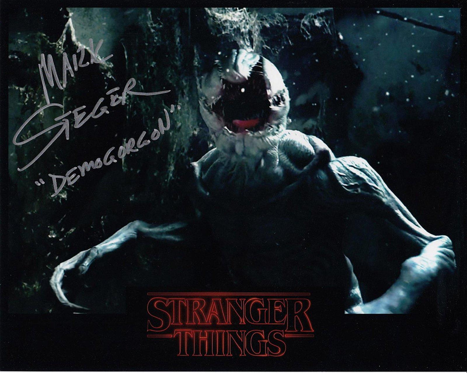 Blowout Sale! Stranger Things Mark Steger hand signed