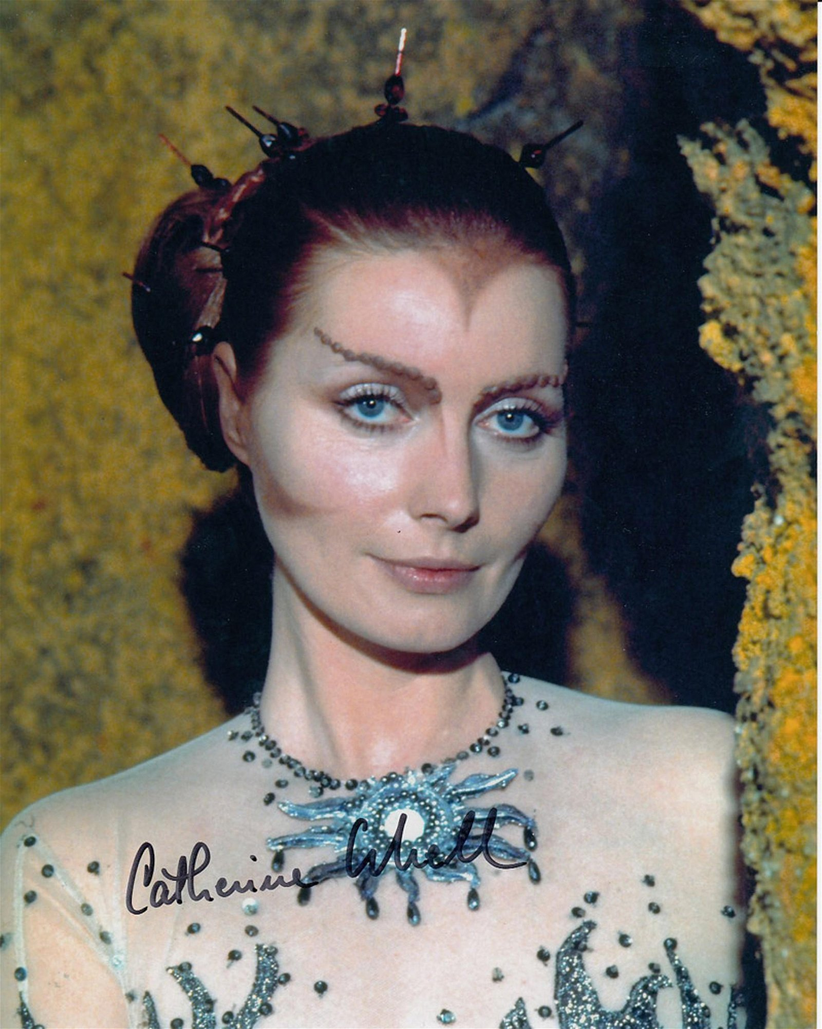 Blowout Sale! Space: 1999 Catherine Schell hand signed