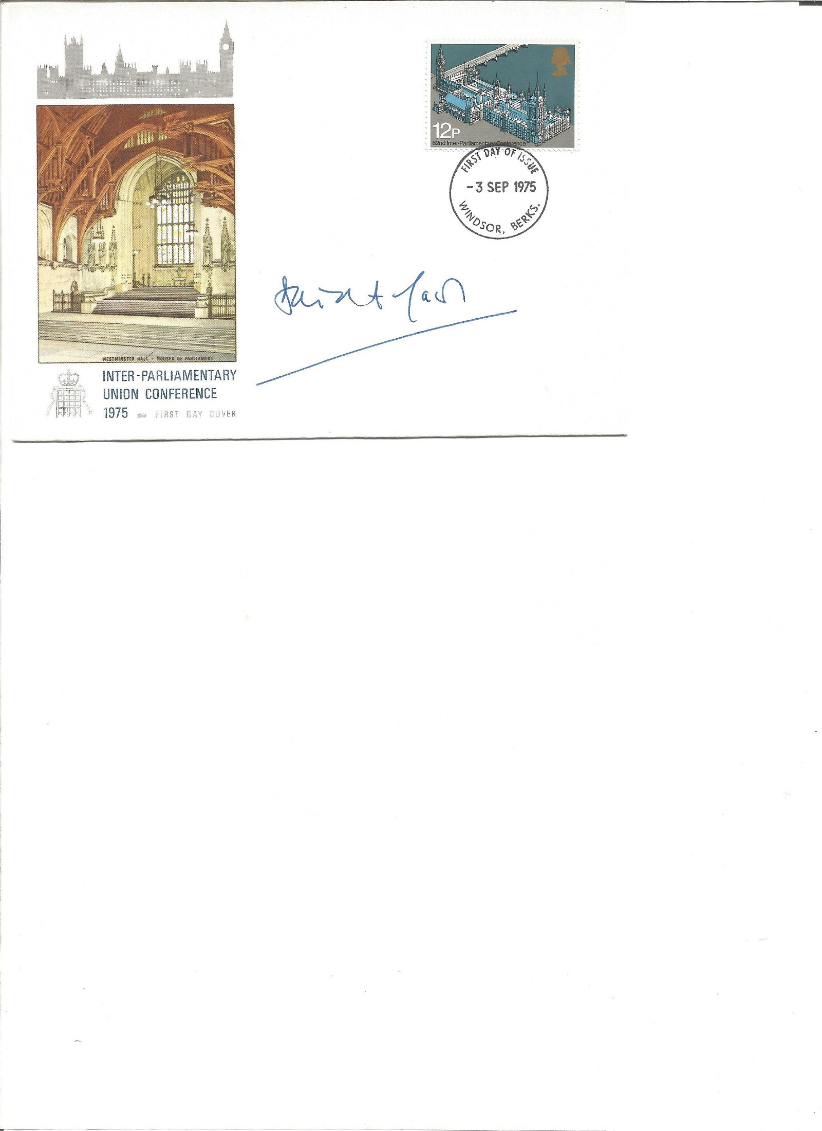 David Laws signed cover. Good Condition. All signed