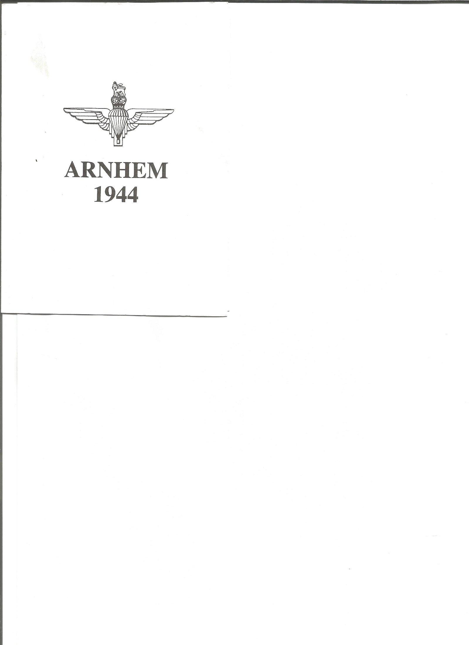Arnhem 1944 phonecard in presentation wallet. No 13 of