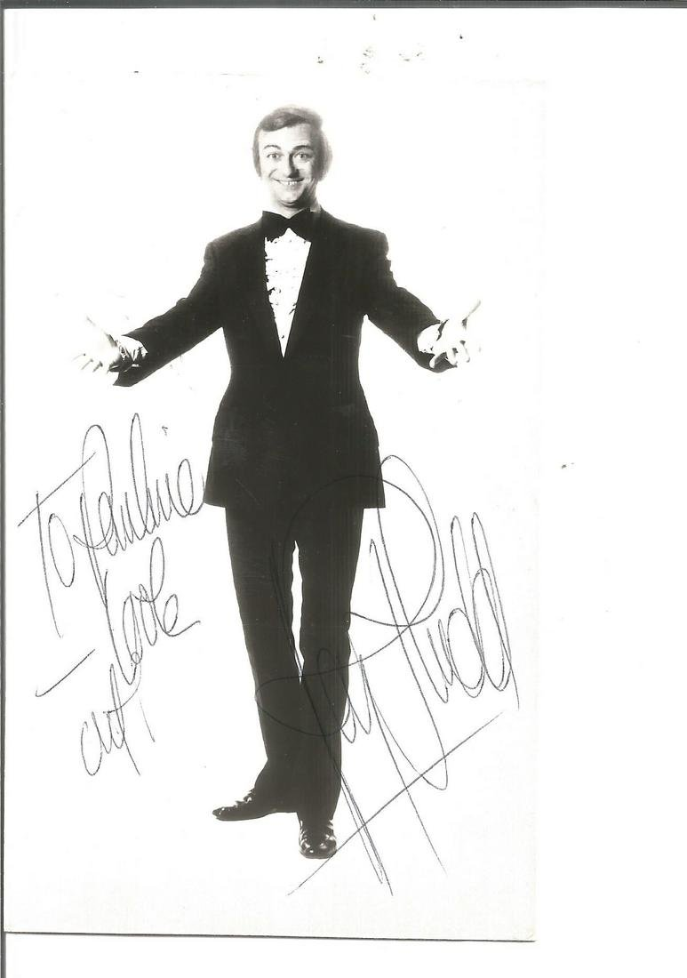 Roy Hudd signed 6x4 black and white photo. Dedicated.