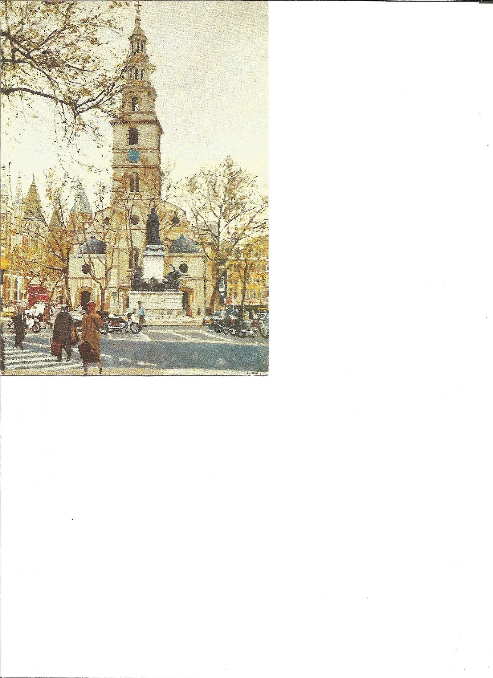 WW2 617 Sqn Mark Flatman signed Christmas card to 617