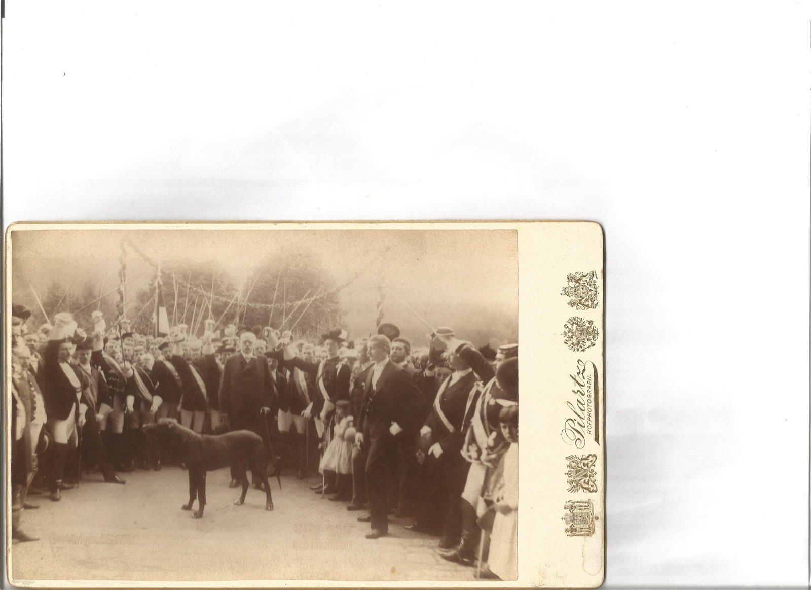 Vintage Kaiser Wilhelm in later years Pilartz Cabinet