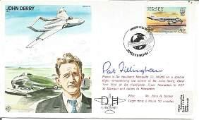 Pat Fillingham signed on John Derrys Test Pilot cover