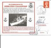 Cdr. David Cartlidge (Commander First MC Sqn. , and