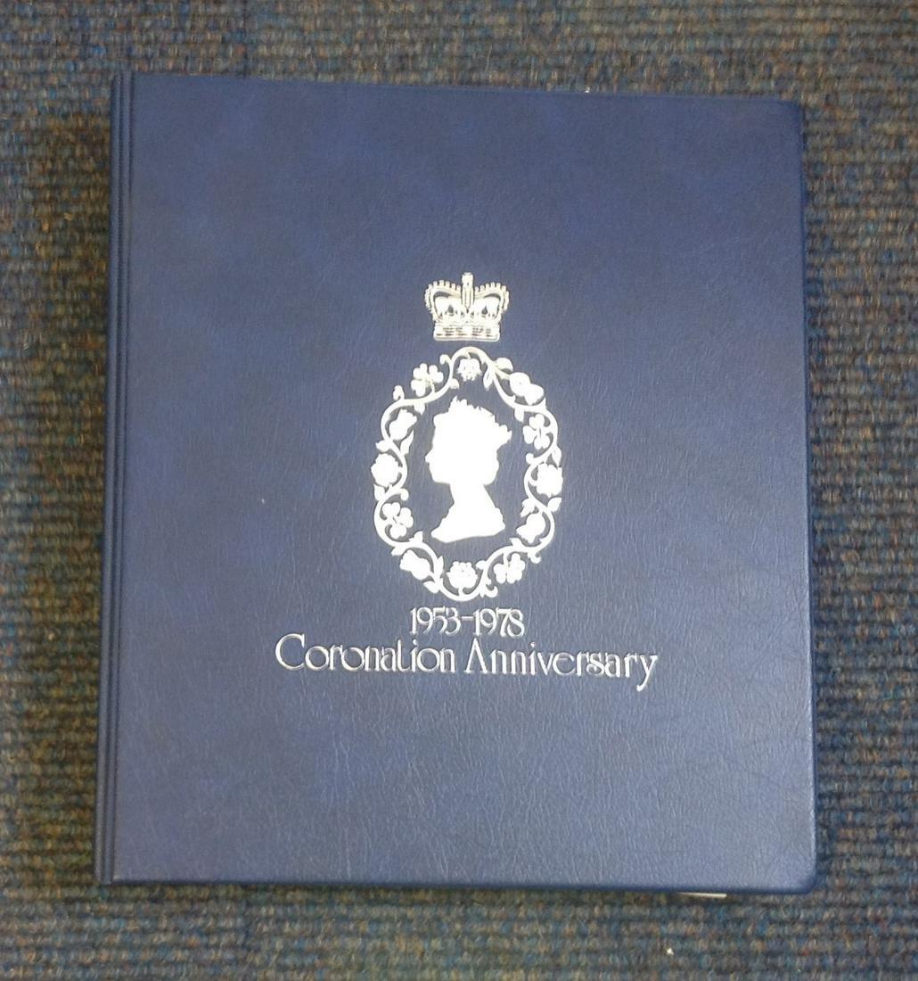 QEII Coronation 1953 to 1978 Commonwealth Omnibus Issue