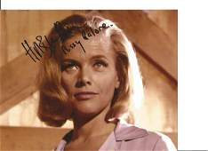 Goldfinger Honor Blackman James Bond signed 10x8 inch