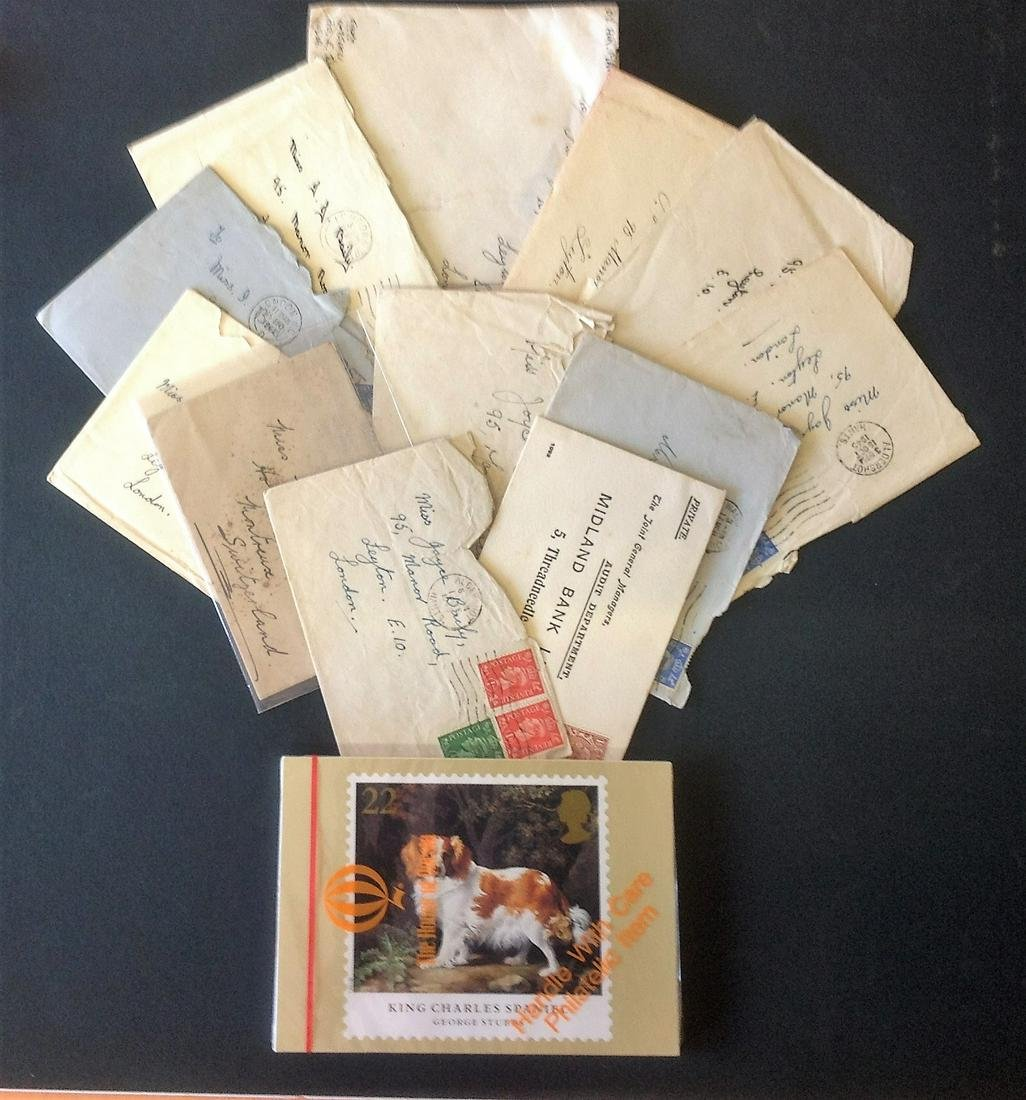 GB commercial cover collection. 12 included. Mainly