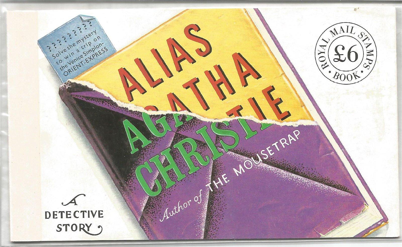 Royal Mail complete prestige stamp booklet, A Detective