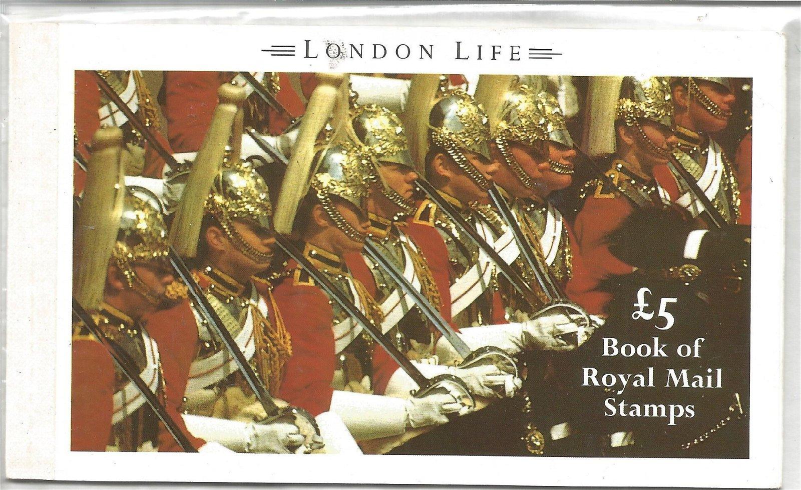 Royal Mail complete prestige stamp booklet, London