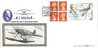 R. J. Mitchell Aircraft Designer Centenary unsigned