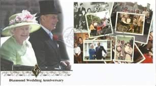 Diamond Wedding Anniversary unsigned Internetstamps