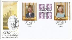 90th Birthday Queen Elizabeth II unsigned