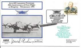 Leonard Cheshire VC 617 Sqn signed VAFA WW2 Lancaster