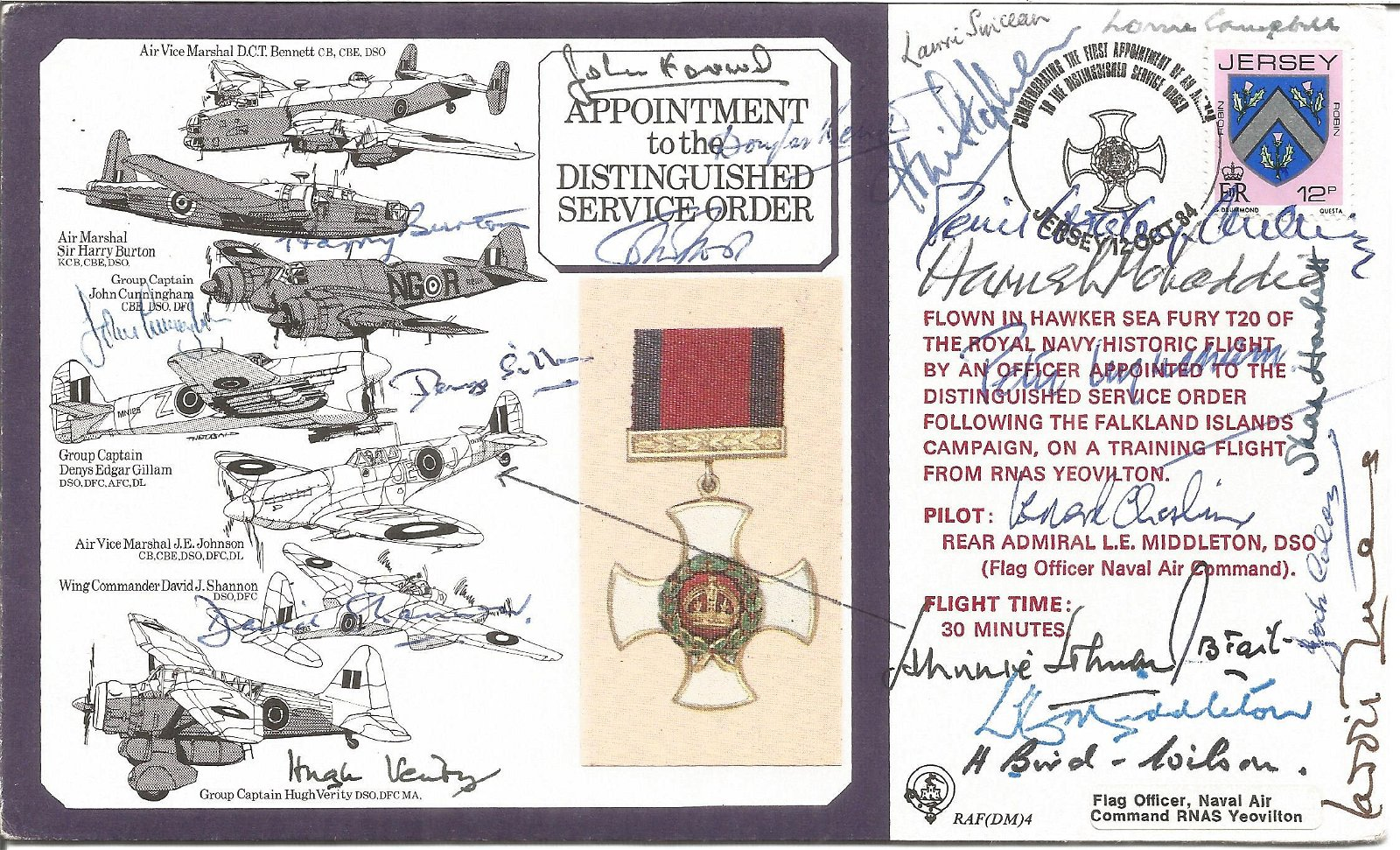 20 WW2 medal winners signed Appointment to the