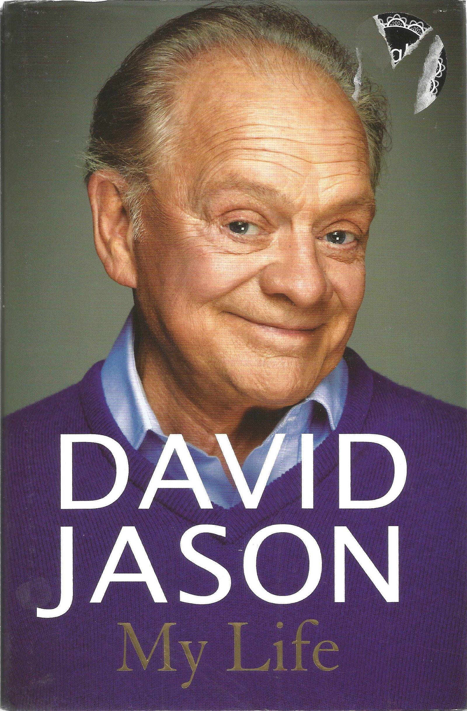 David Jason signed My Life hardback book. Signed on