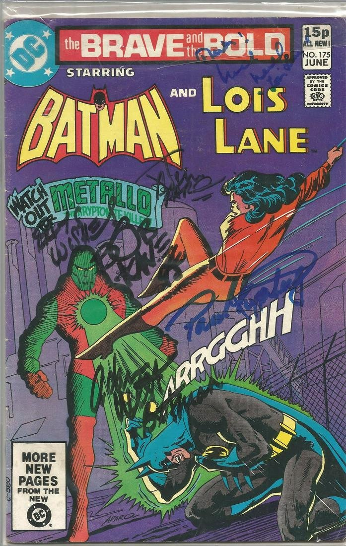 Bob Kane, Jim Aparo, Adam West, Paul Kupperberg, Noel