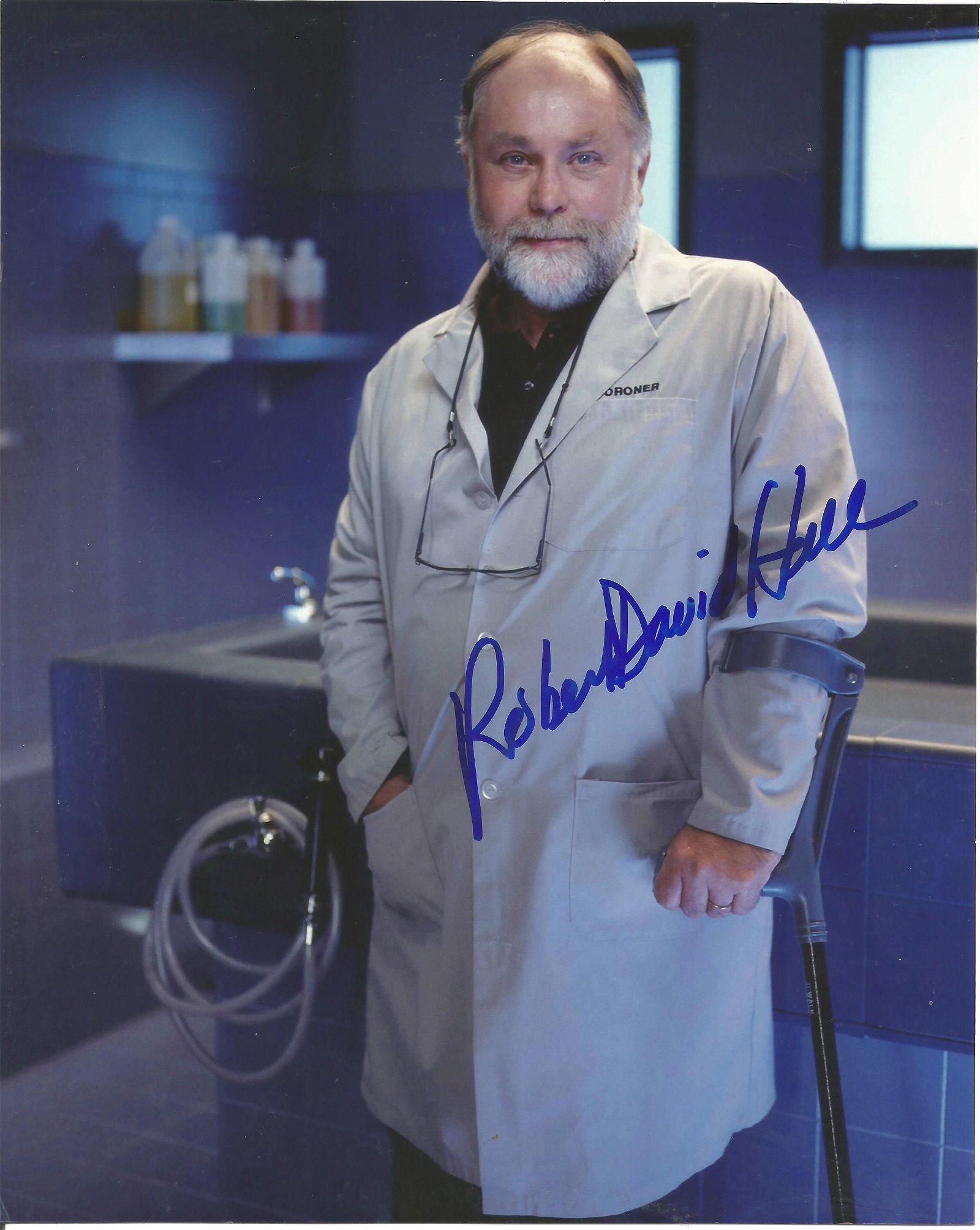 Movies and TV Robert David Hall 10x8 signed colour