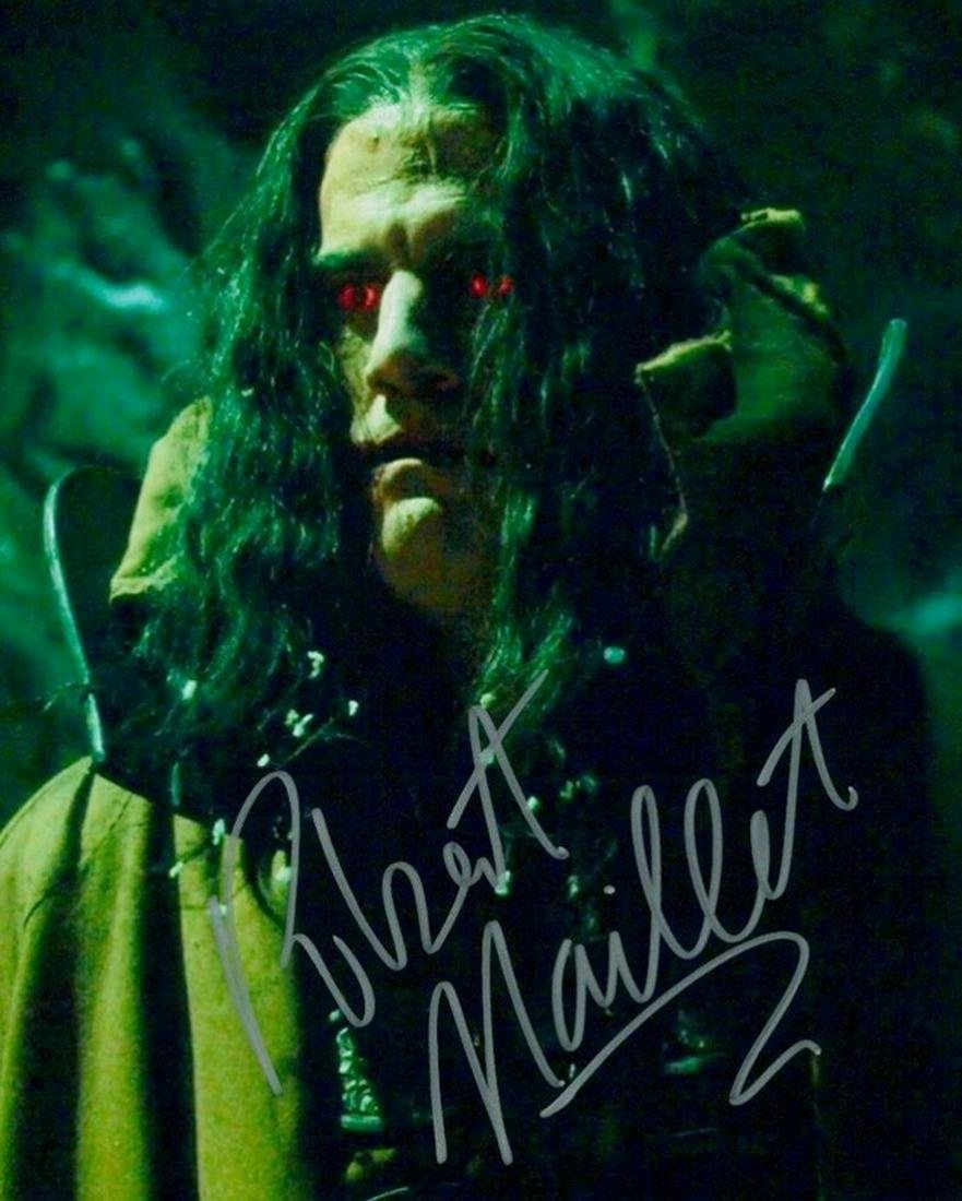 Blowout Sale! The Strain Robert Maillet hand signed