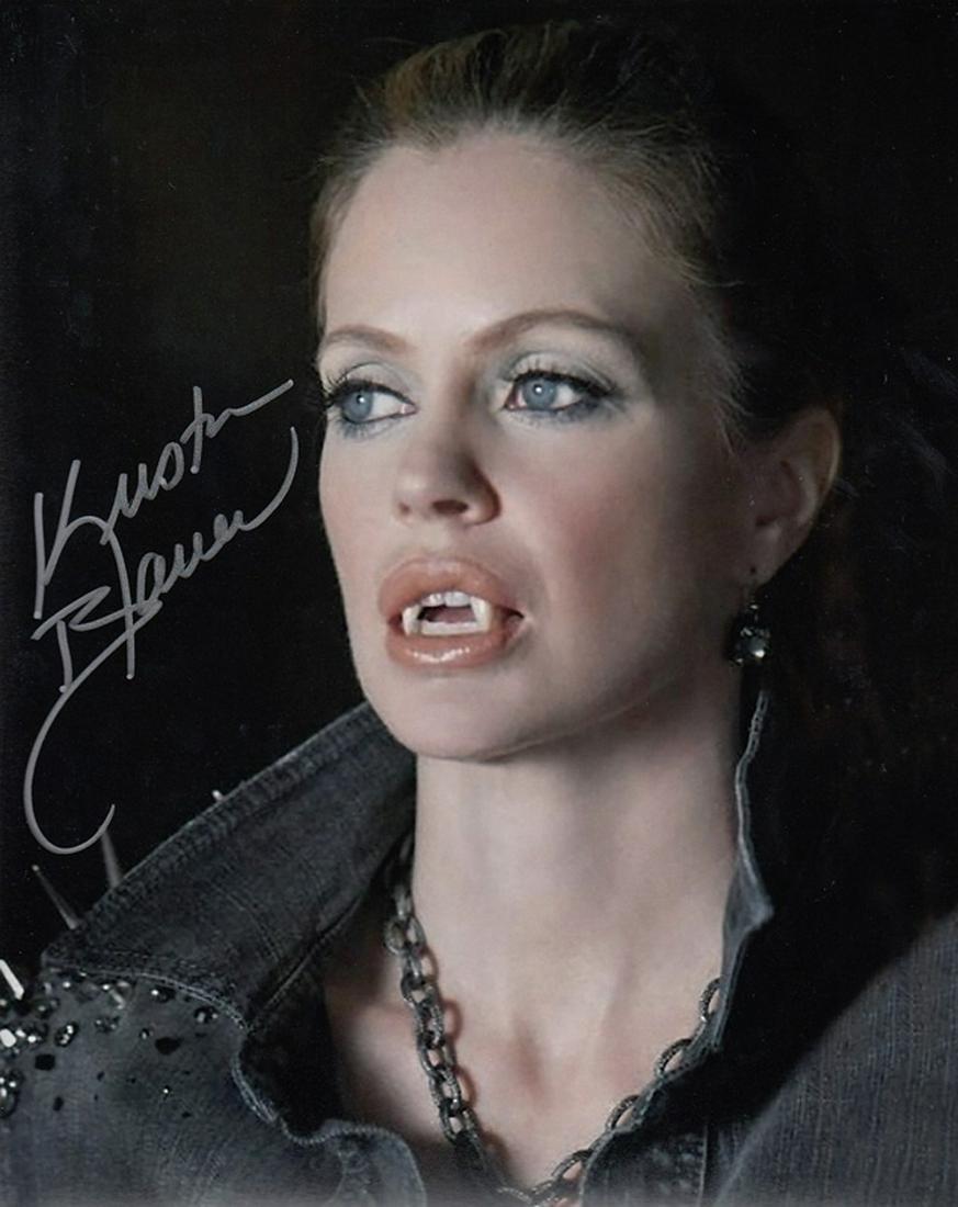 Blowout Sale! True Blood Kristin Bauer hand signed 10x8
