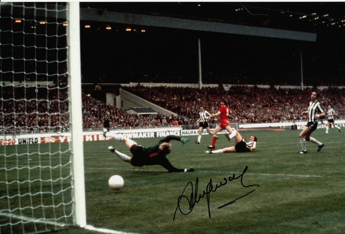 Steve Heighway Football Autographed 12 X 8 Photo, A