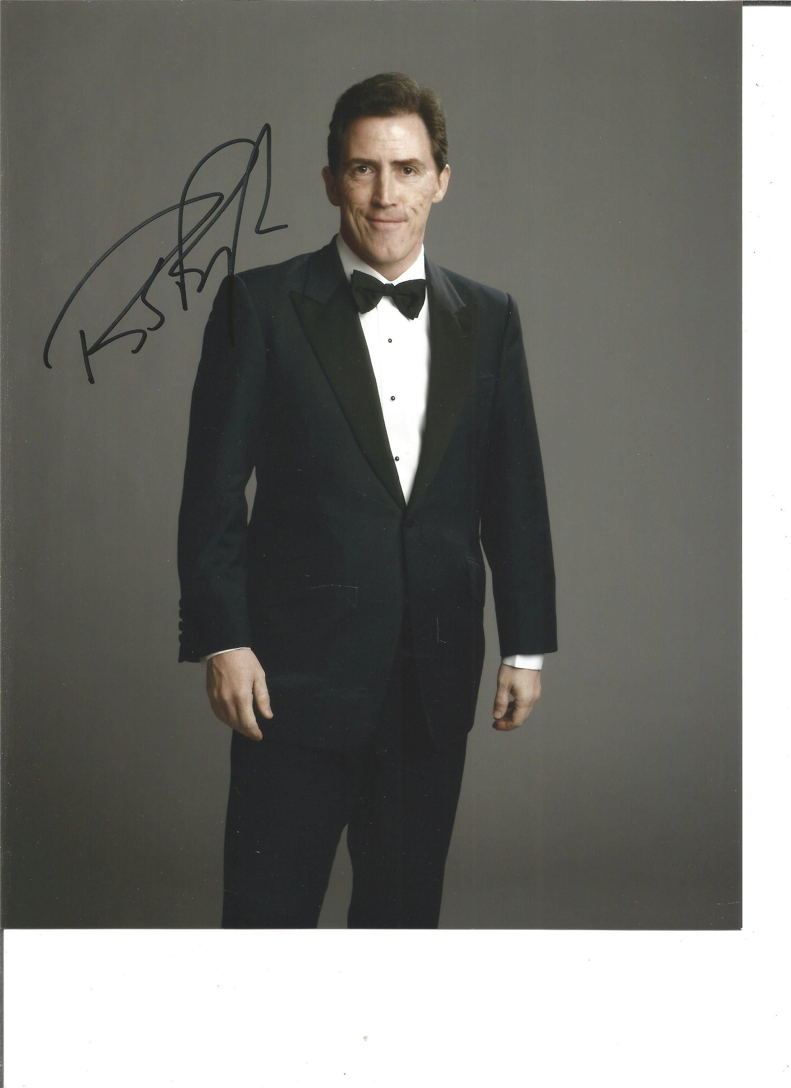 Rob Brydon Actor Comedian Signed 8x10 Photo. Good