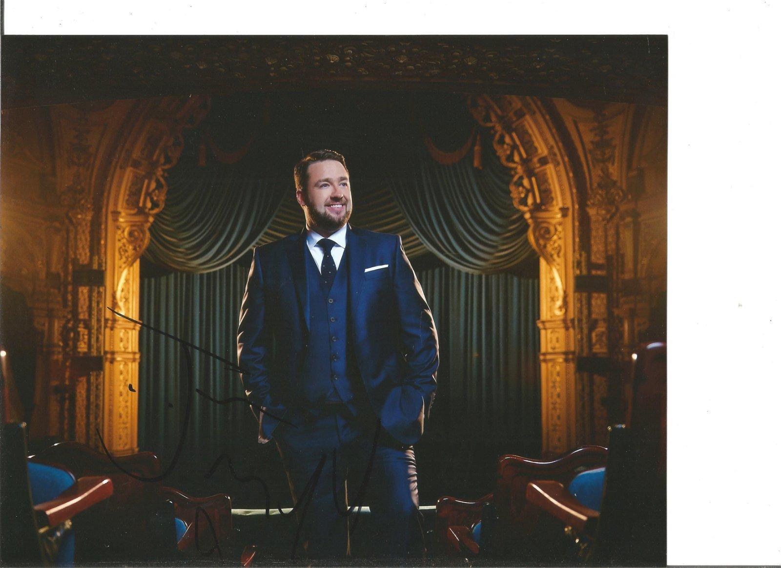 Jason Manford Actor Comedian Signed 8x10 Photo. Good