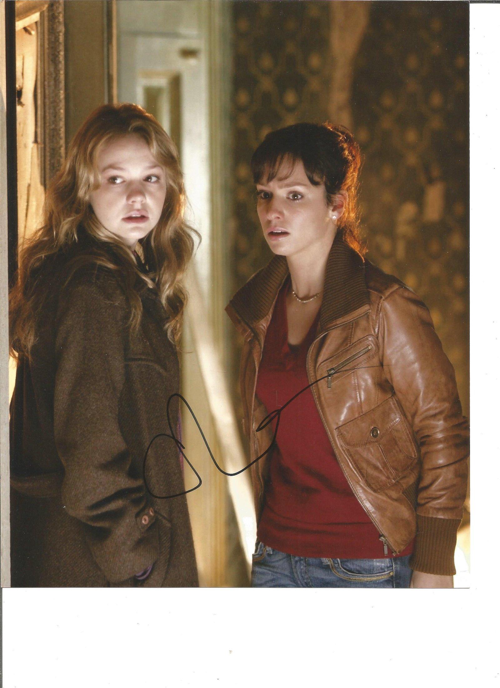 Carey Mulligan Actress Signed 8x10 Photo. Good