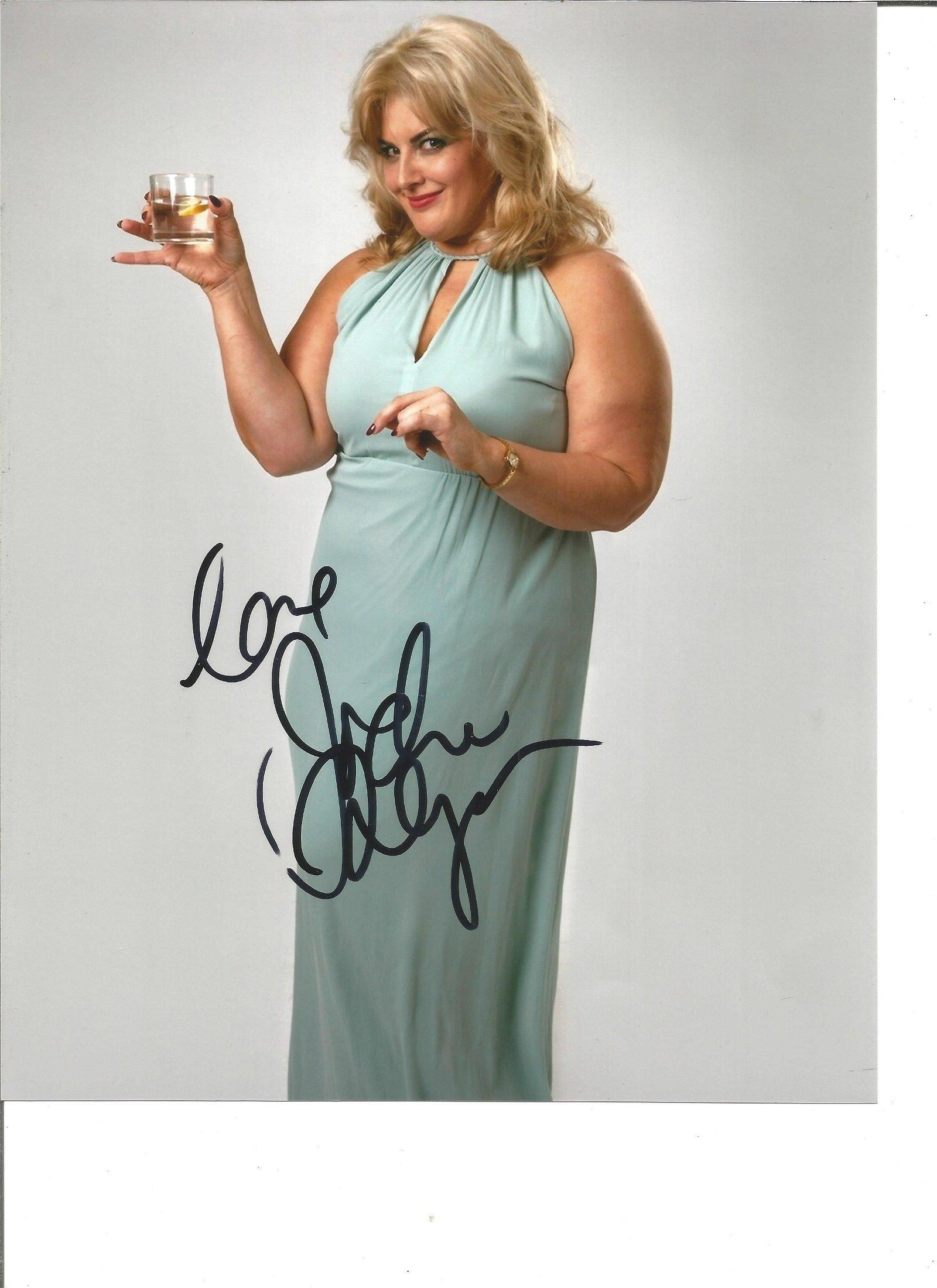 Jodie Prenger Actress Singer Signed 8x10 Photo. Good