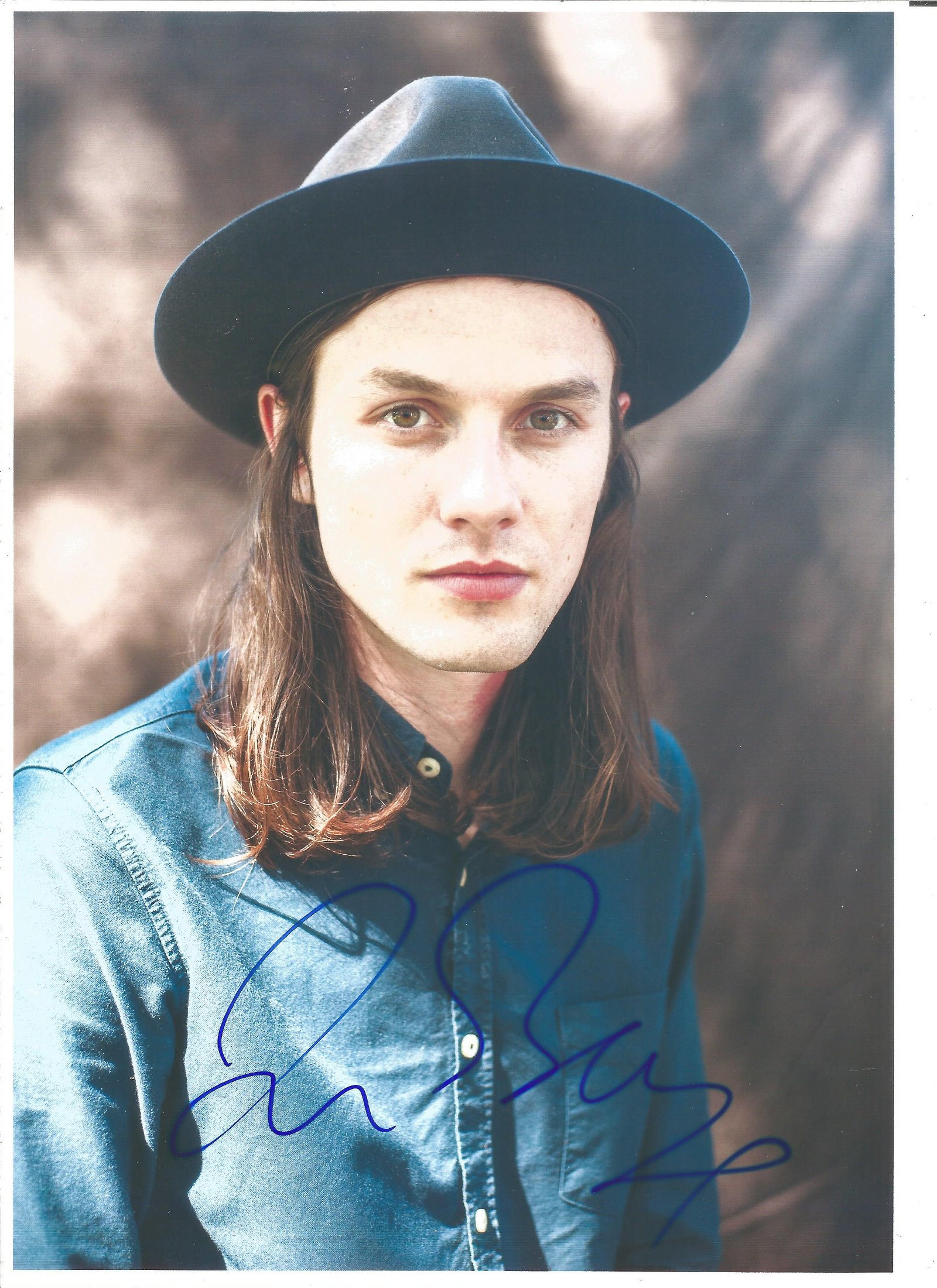 James Bay Singer Signed 8x12 Photo. Good Condition. All