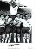 Nat Lofthouse (1925-2011) Signed Bolton Wanderers 1958