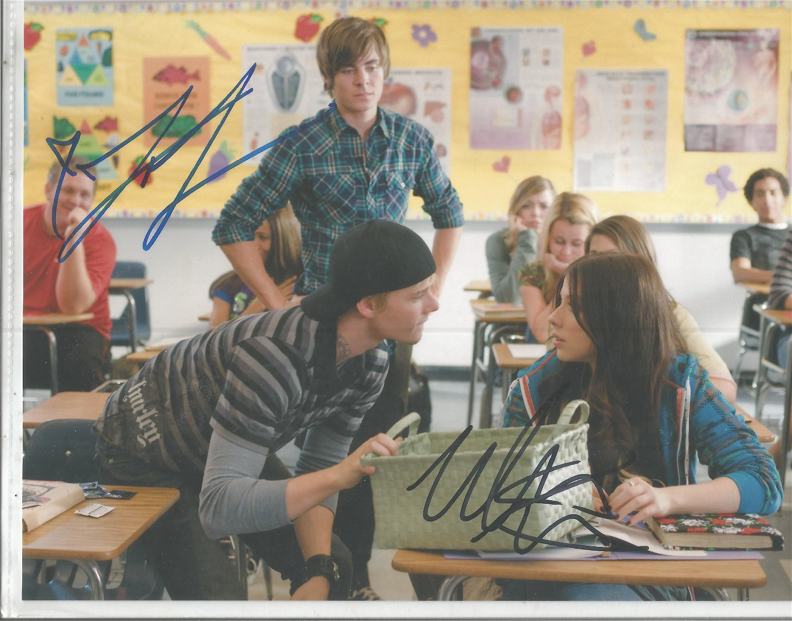 17 again signed 10x8 colour photo. Good Condition. All