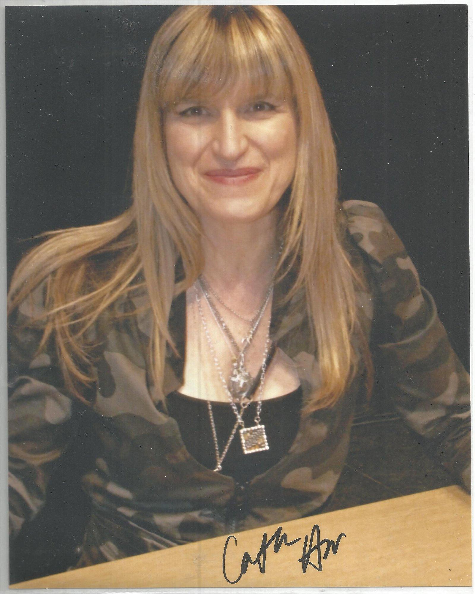 Catherine Hardwicke signed 10x8 colour photo. Good