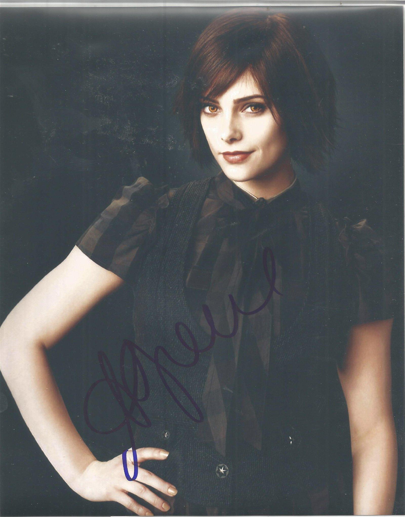 Ashley Greene signed 10x8 colour photo. Good Condition.