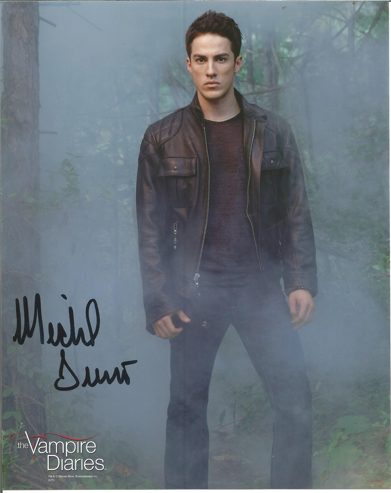 Michael Trevino signed 10x8 colour photo from Vampire
