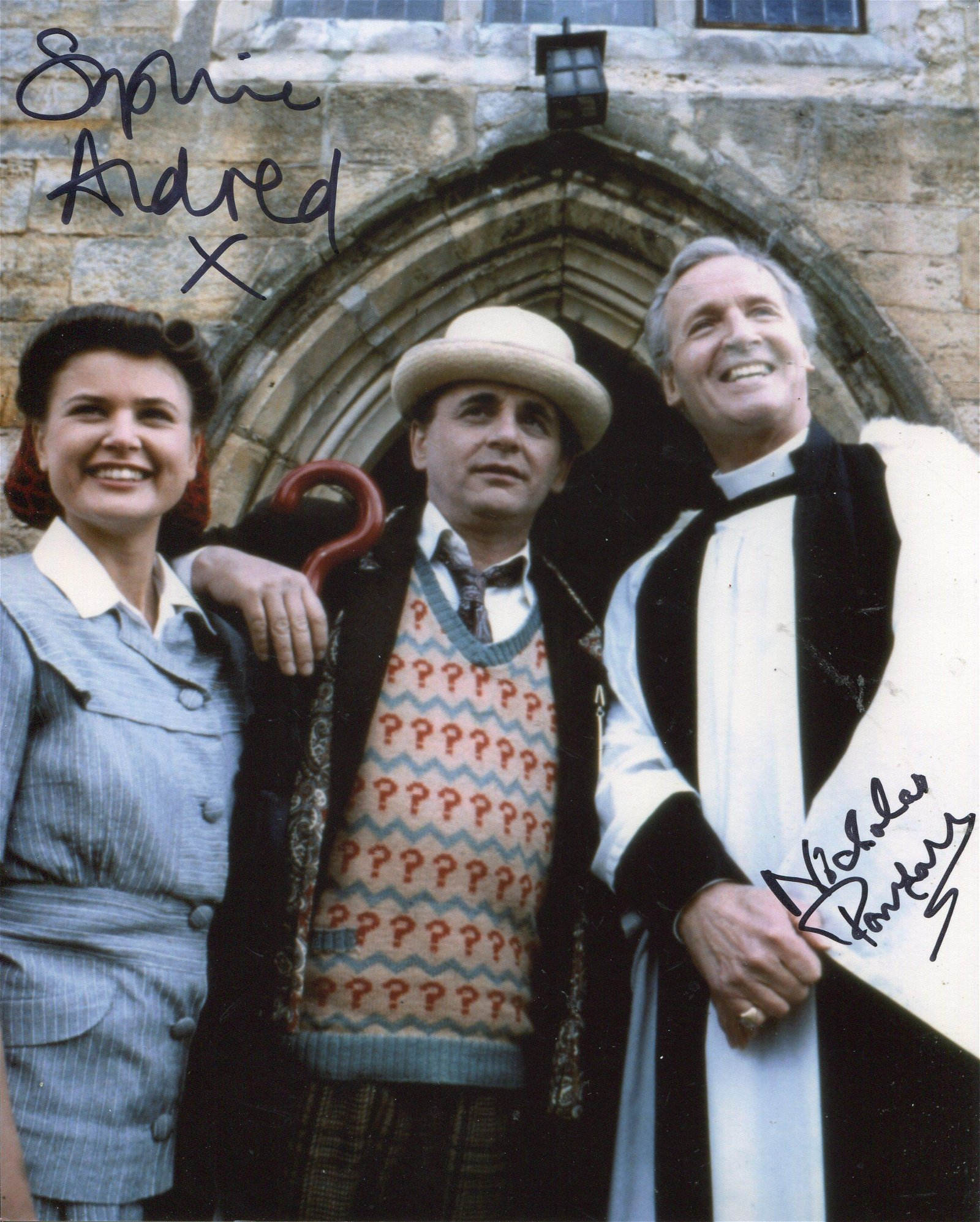 Doctor Who Curse of Fenric 8x10 inch photo scene signed