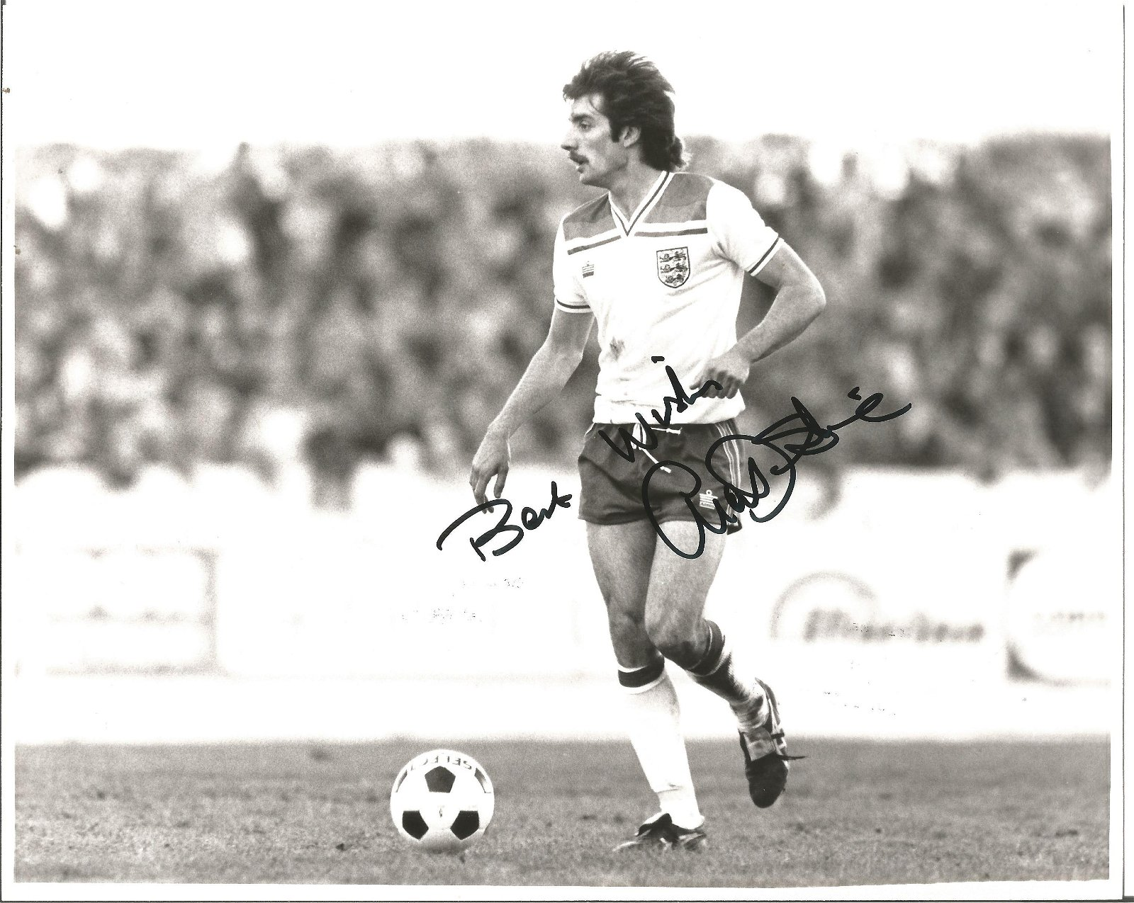 Football Alan Devonshire 10x8 signed black and white