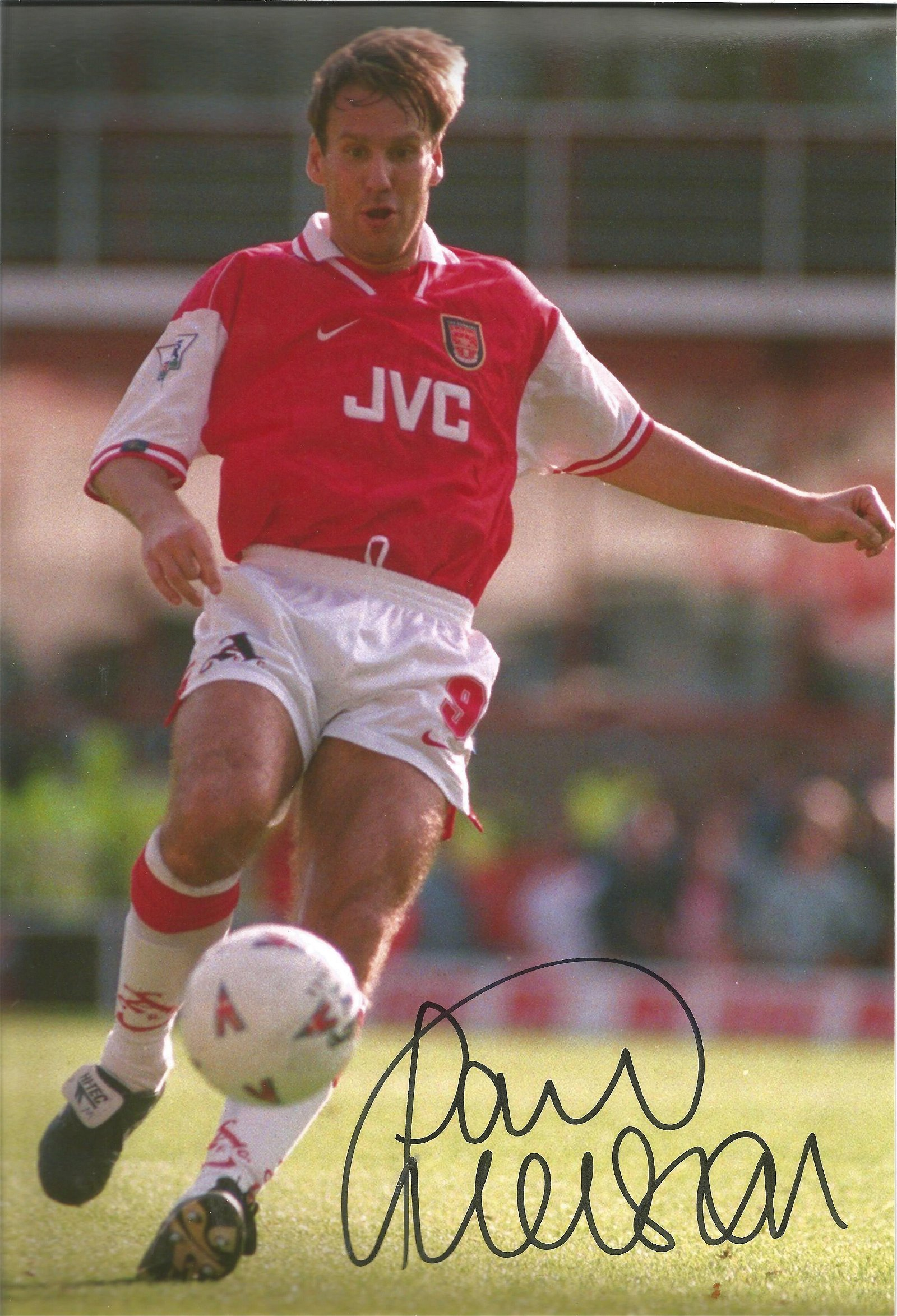 Football Paul Merson signed 12x8 colour photo pictured